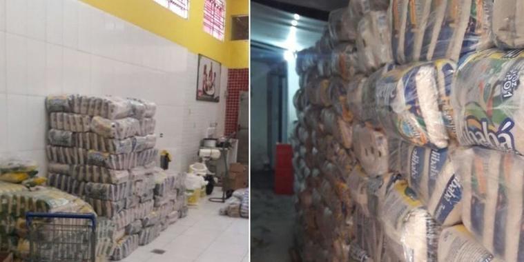 Supermercado seria inaugurado com 16 toneladas de produtos roubados