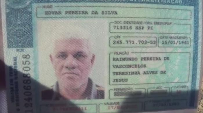 Edvar foi morto com um tiro no peito (Crédito: Reprodução/TV Meio Norte)