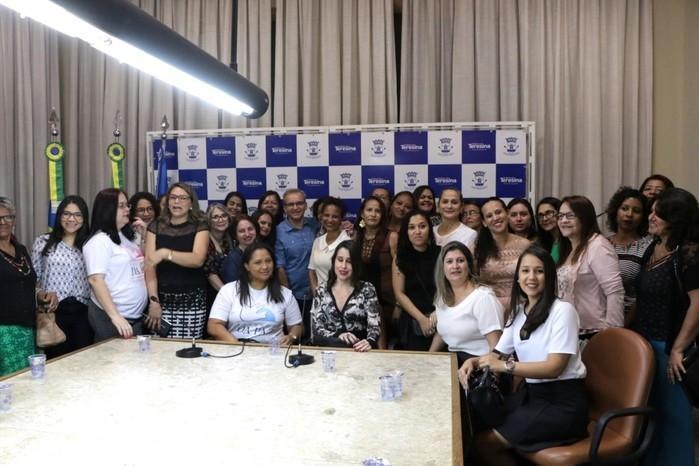 Novas integrantes do Conselho do Direito da Mulher de Teresina (Crédito: Renato Bezerra)
