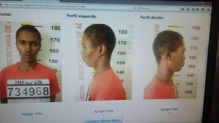 """Lion David do Nascimento, mais conhecido como """"Negro Lion"""" (Crédito: Polícia Civil)"""
