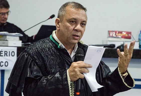 Márcio Mourão, um dos advogados de defesa.  (Crédito: Wendell Veras )
