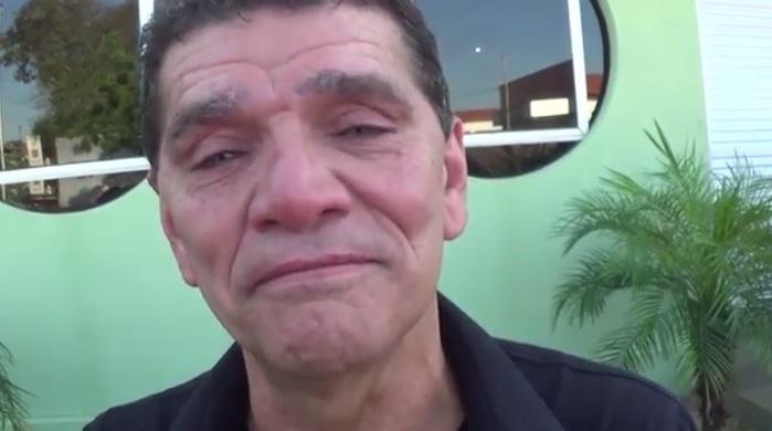 Pedro Ferreira é cunhado da vítima (Crédito: Reprodução/TV Meio Norte)