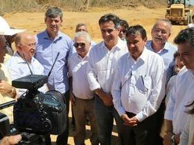 Governador visita obras nas BRs 135 e 235, no sul do estado