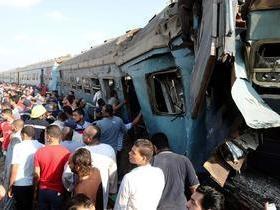 Acidente envolvendo trem deixa ao menos 36 mortos no Egito