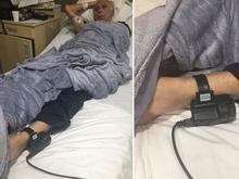 Defesa divulga fotos de Abdelmassih com tornozeleira em hospital