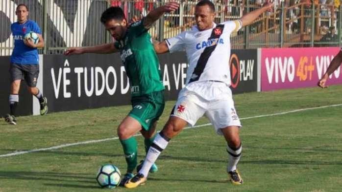 Palmeiras e Vasco empatam durante jogo em Volta Redonda (Crédito: Carlos Gregório Jr/Vasco / LANCE)