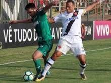 Palmeiras e Vasco empatam durante jogo em Volta Redonda