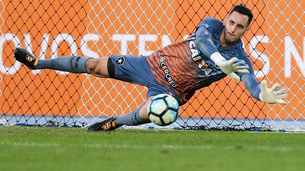 Gatito Fernandez, goleiro do Botafogo (Crédito: Getty)