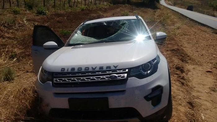 Veículo envolvido no acidente na BR-135 (Crédito: Anchieta/Polícia Civil)