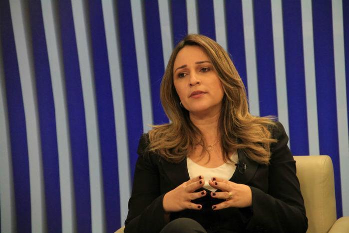 Secretária de Estado da Educação, Rejane Dias (Crédito: Efrém Ribeiro)