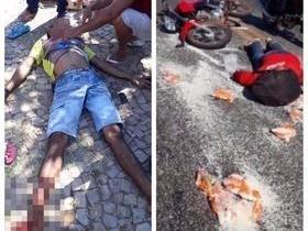 Colisão entre motocicletas deixa feridos em Campo Maior