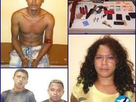Quadrilha suspeita de assaltar a agência dos Correios é presa
