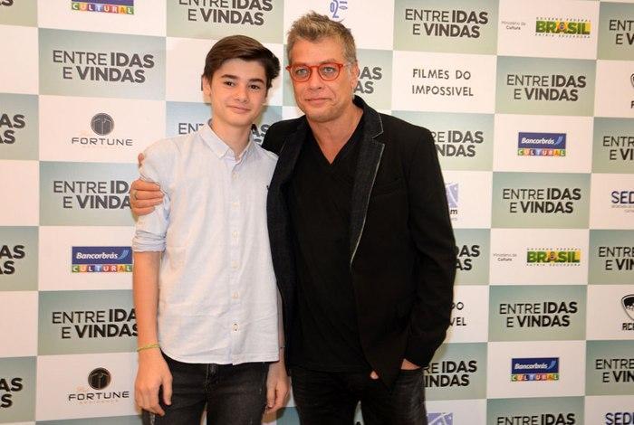 Fábio Assunção proíbe filho de participar de filme com Gentilli no elenco
