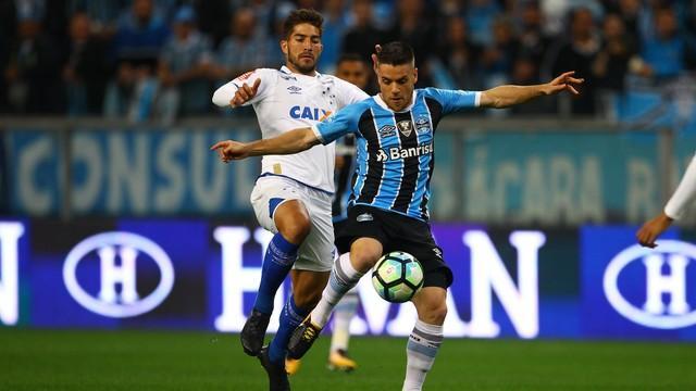 Tricolor gaúcho vence e leva vantagem para BH (Crédito: Globo Esporte)