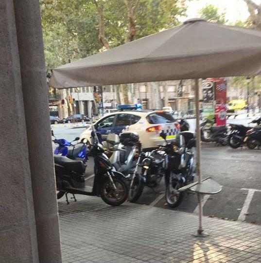 Foto tirada de dentro do restaurante (Crédito: Josenildo Gusza/Arquivo Pessoal)