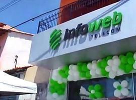 Infoweb Telecom inaugura loja em Parnaíba; internet fibra óptica