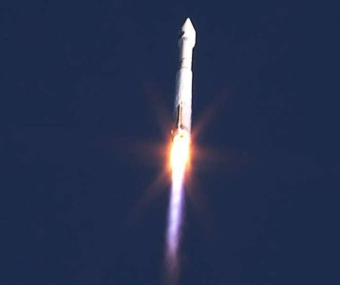 Nasa lança satélite (Crédito: AFP)