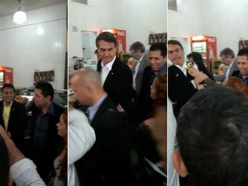 Jovem que acertou ovada em Bolsonaro diz que não se arrepende