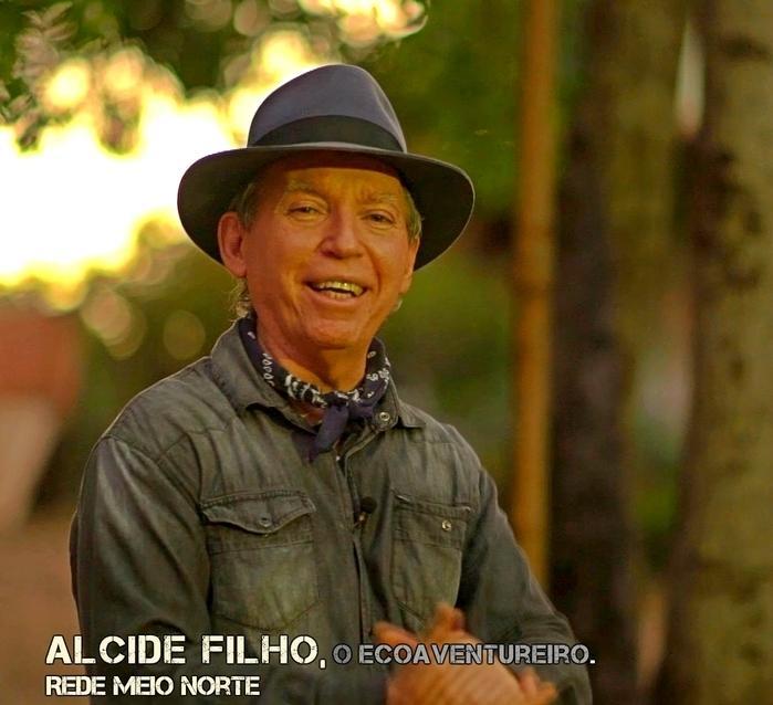 Alcide Filho, na apresentação do Coizanossa, pela Rede Meio Norte.  (Crédito: Edu Garden)