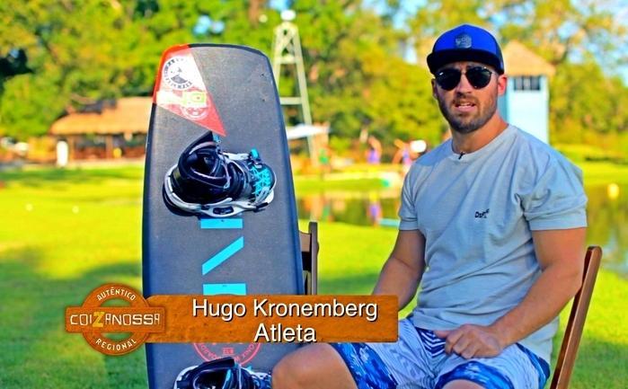 Hugo Kronenberger, atleta piauiense de Wekeboard, um ecoesporte  (Crédito: Dudu Garden)