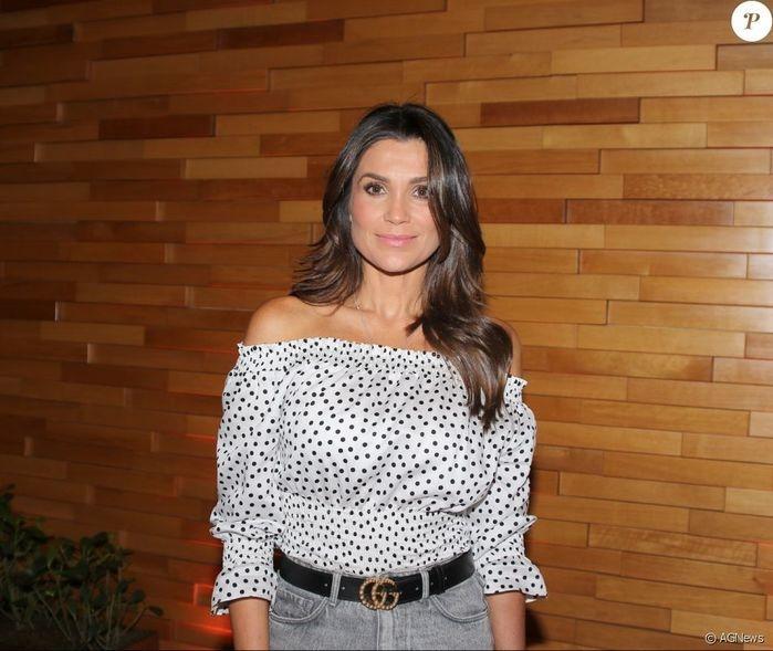 Flávia Alessandra (Crédito: Agência News)