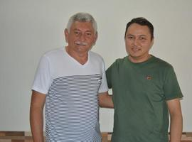 Prefeito Manoel Lázaro visita Padre Alan Kardec