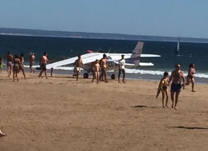 Avião fez pouso de emergência e duas pessoas morreram (Crédito: Reprodução)