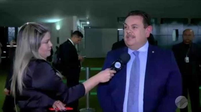 Deputado Federal Silas Freire (Crédito: Reprodução Rede MN)