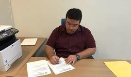 Prefeito  assina ordem de serviço para construção de Academia