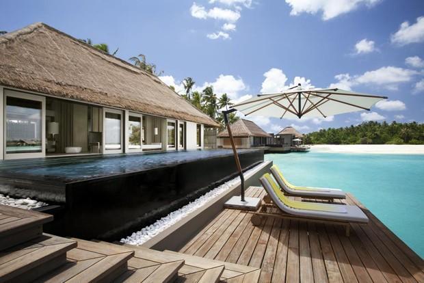 Bruna Marquezine curte hotel com diária de R$ 16 mil, nas Maldivas  (Crédito: Reprodução/Instagram)