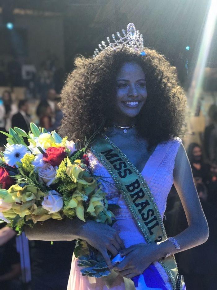 Monalysa Alcântara foi eleita Miss Brasil (Crédito: Ana Ceribelli/BE Emotion)