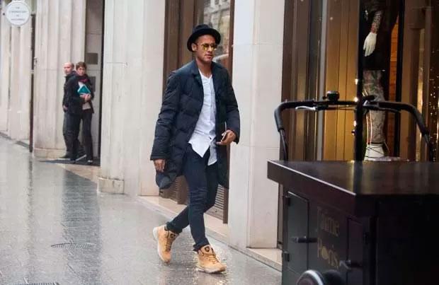 Neymar em Paris (Crédito: Reprodução)