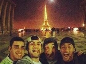 Entre os treinos e hotel, Neymar começa a descobrir charme de Paris