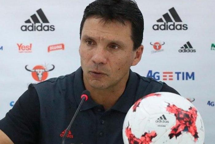 Zé Ricardo pode assumir o Vasco, caso Milton Mendes deixe o clube (Crédito: Divulgação/Flamengo)
