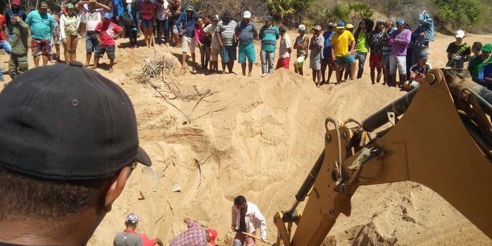 Homem morre soterrado quando cavava Poço na zona rural de Massapê d