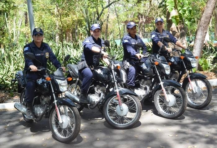 Motos serão usadas em parques ambientais e áreas verdes de Teresina (Crédito: Reprodução)
