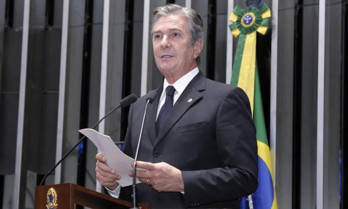 senador Fernando Collor  (Crédito: Agência Senado)