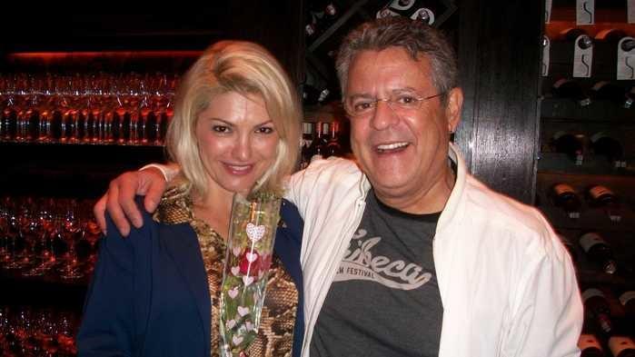 Antonia Fontenelle e Marcos Paulo
