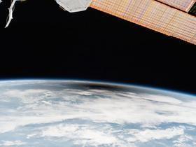 Astronautas veem detalhe do eclipse solar que ninguém viu; fotos