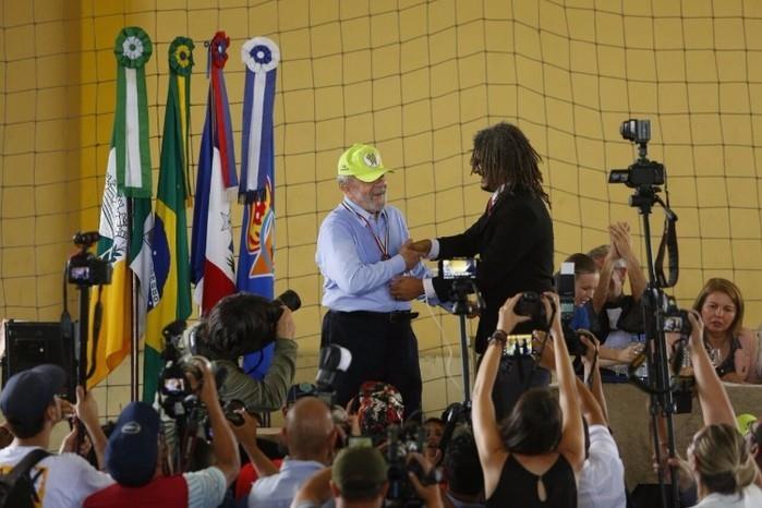 Lula recebe o título de Doutor Honoris Causa na Uneal (Crédito: Felipe Brasil)