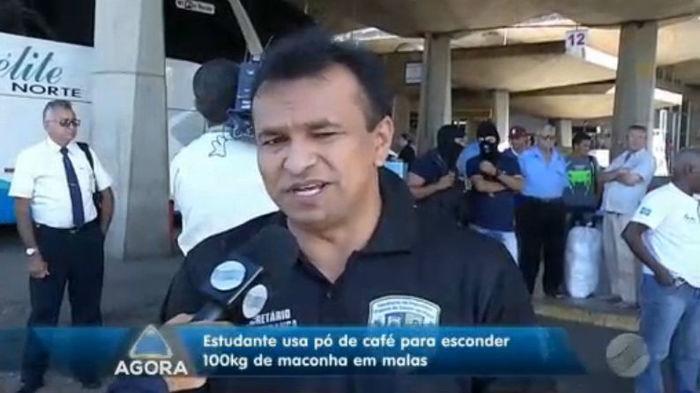 Secretário de Segurança Fábio Abreu (Crédito: Rede Meio Norte)