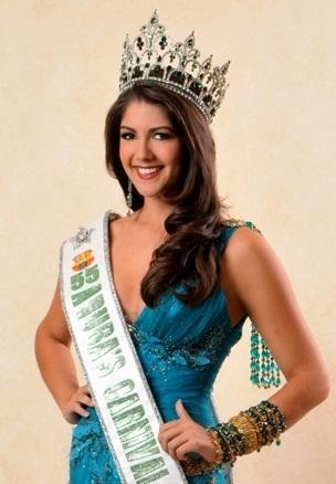 Miss Aruba 2017 - Alina Mansur (Crédito: Divulgação/Miss Universo)