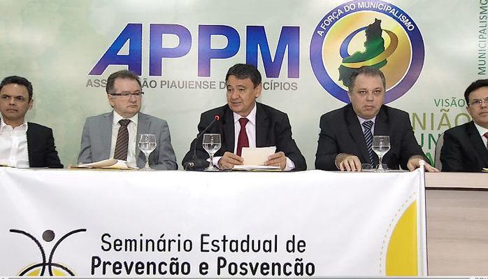 O governador Wellington Dias participou do evento  (Crédito: Reprodução)
