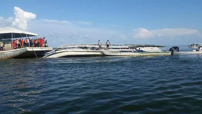 quipes trabalham na busca de desaparecidos após naufrágio de um barco no Rio Xingu (Crédito: Paulo Vieira / Arquivo Pessoal))