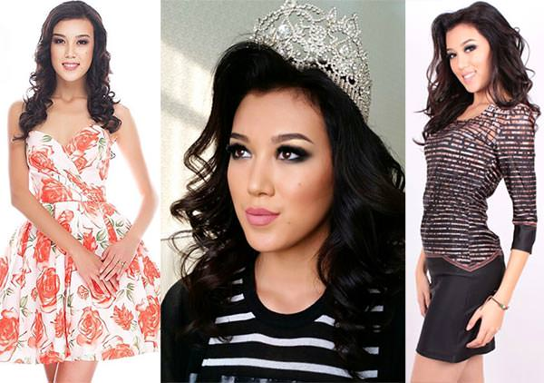 Miss Cazaquistão 2017 - Kamila Asilova (Crédito: Divulgação/ )