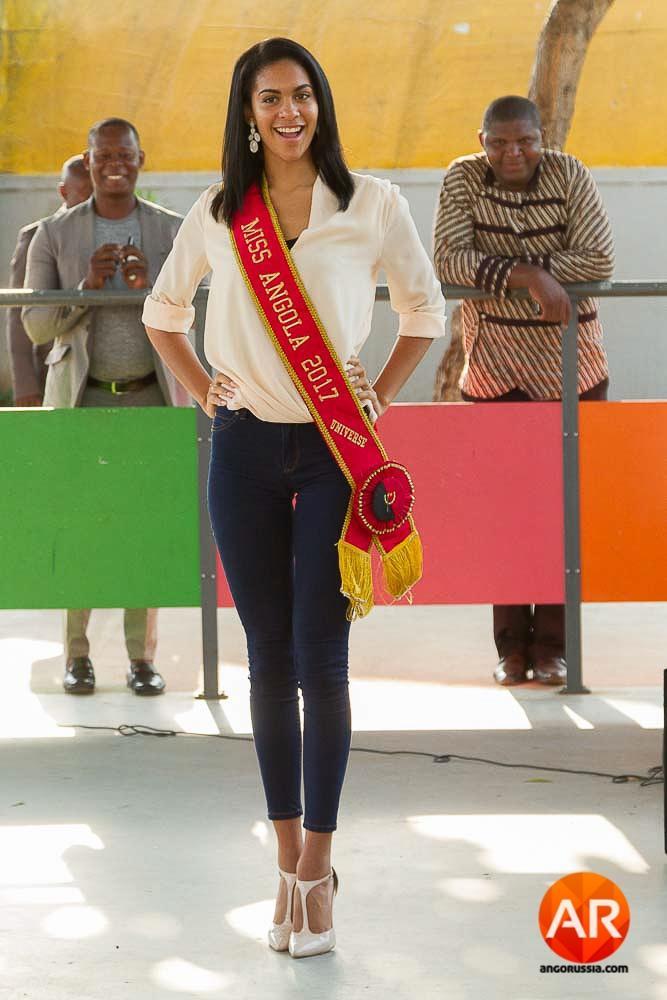 Miss Angola 2017 - Lauriela Márcia Martins (Crédito: Divulgação/Miss Universo)