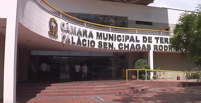 Câmara Municipal de Teresina (Crédito: Reprodução)