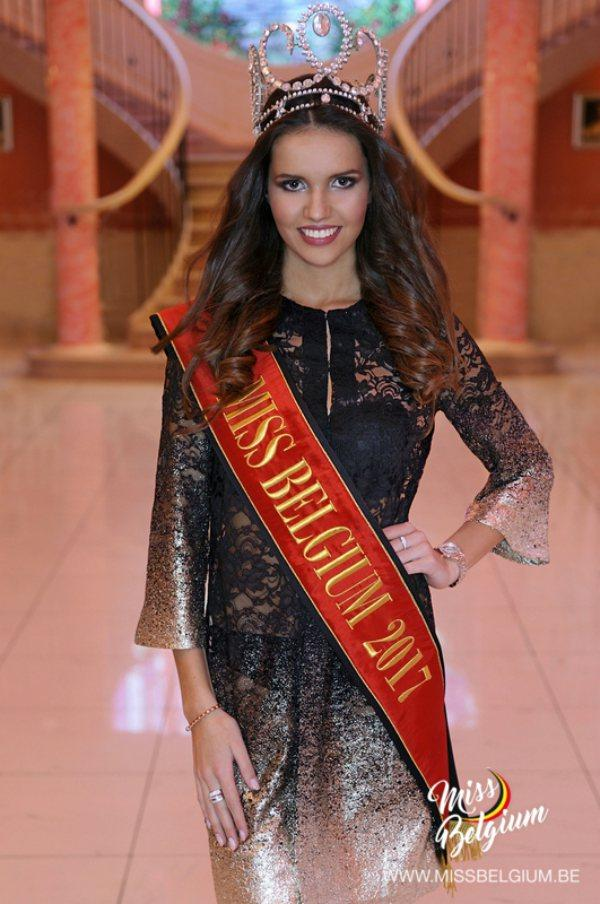 Miss Bélgica 2017 -  Romanie Schotte (Crédito: Divulgação/Miss Universo)