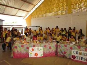 E.M Liberato Vieira Realizou Festival Folclorico