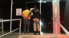 PRF prende motorista com CNH falsa em Floriano (Crédito: PRF)